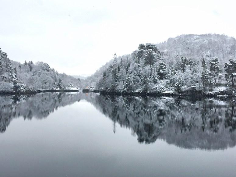 Loch Katrine snow