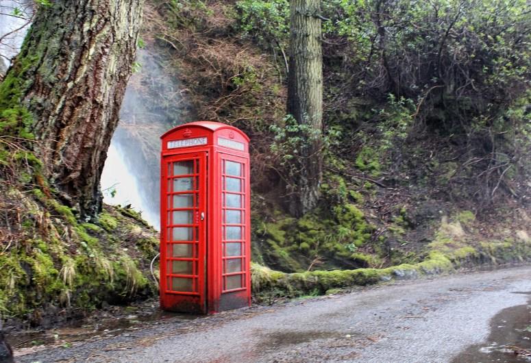 Telephone box, Carsaig