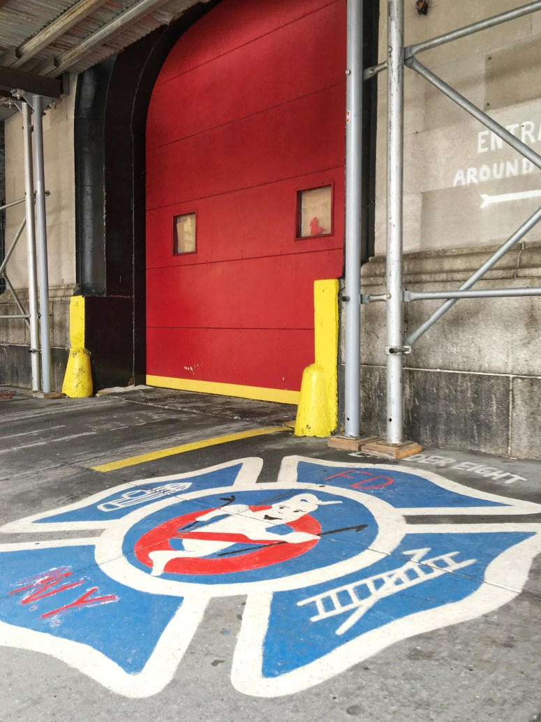 Ghostbusters fire station, New York