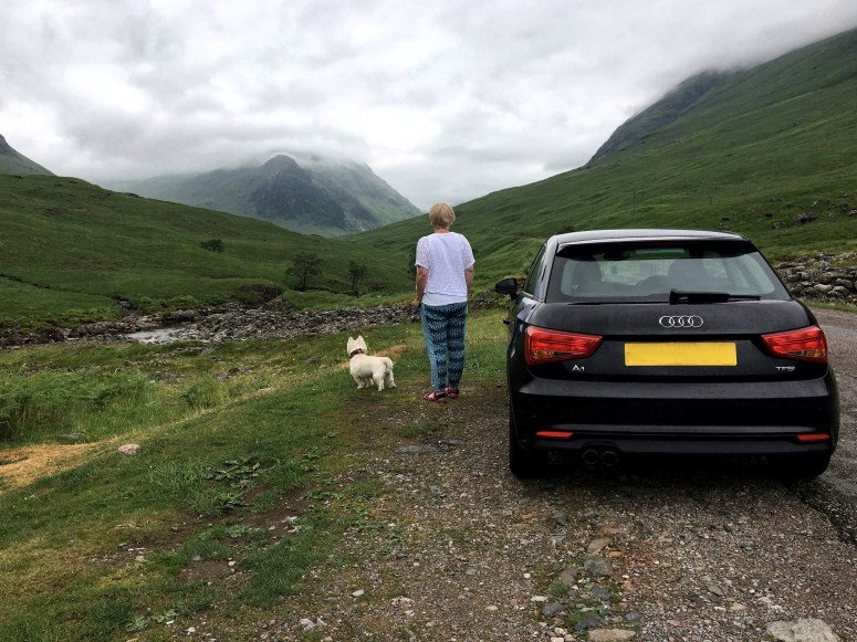 Scottish travel blogger