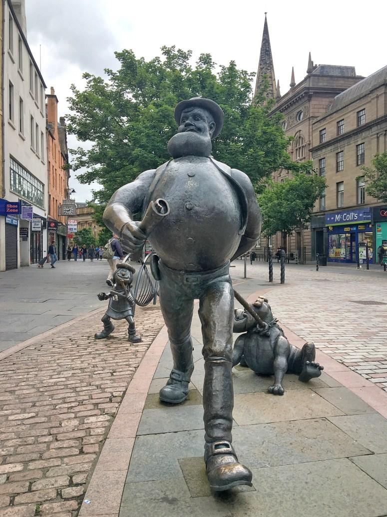 Desperate Dan, Dundee