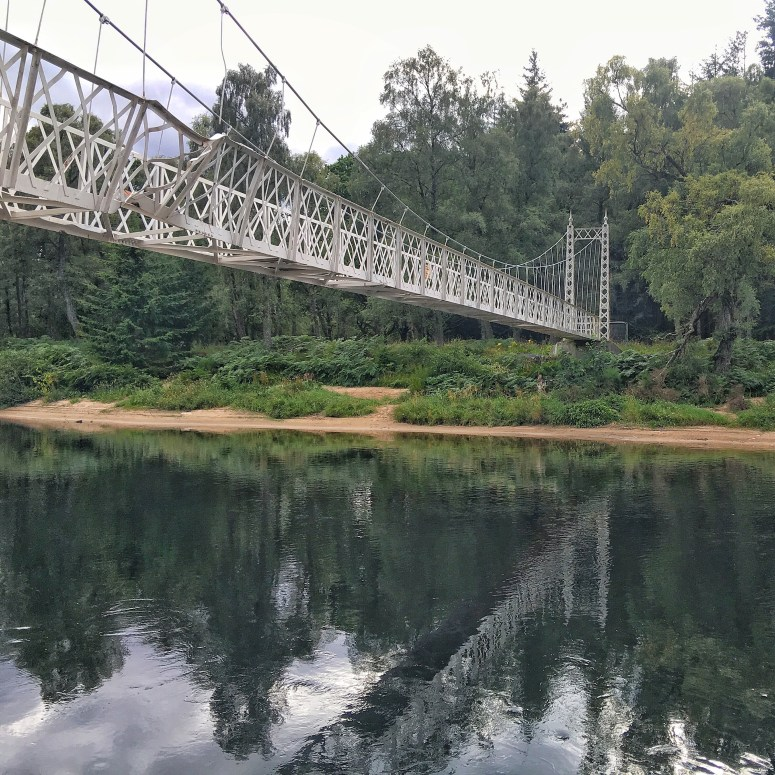Cambus O' May Suspension Bridge