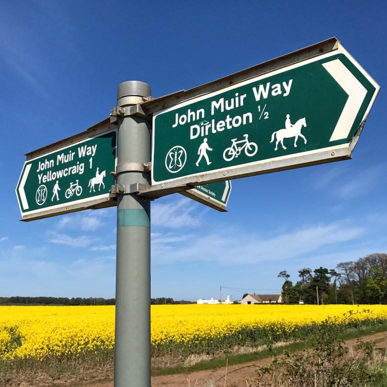 John Muir Way, Dirleton