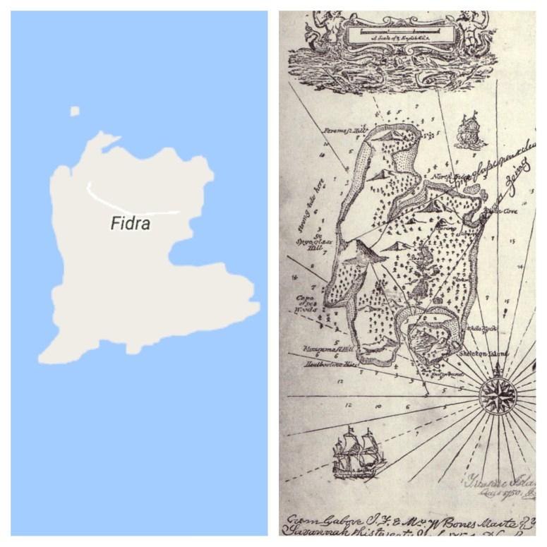Fidra, Treasure Island