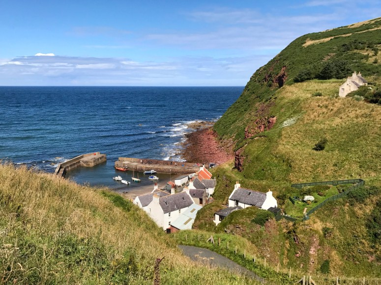 Pennan, Aberdeenshire Coastal Trail