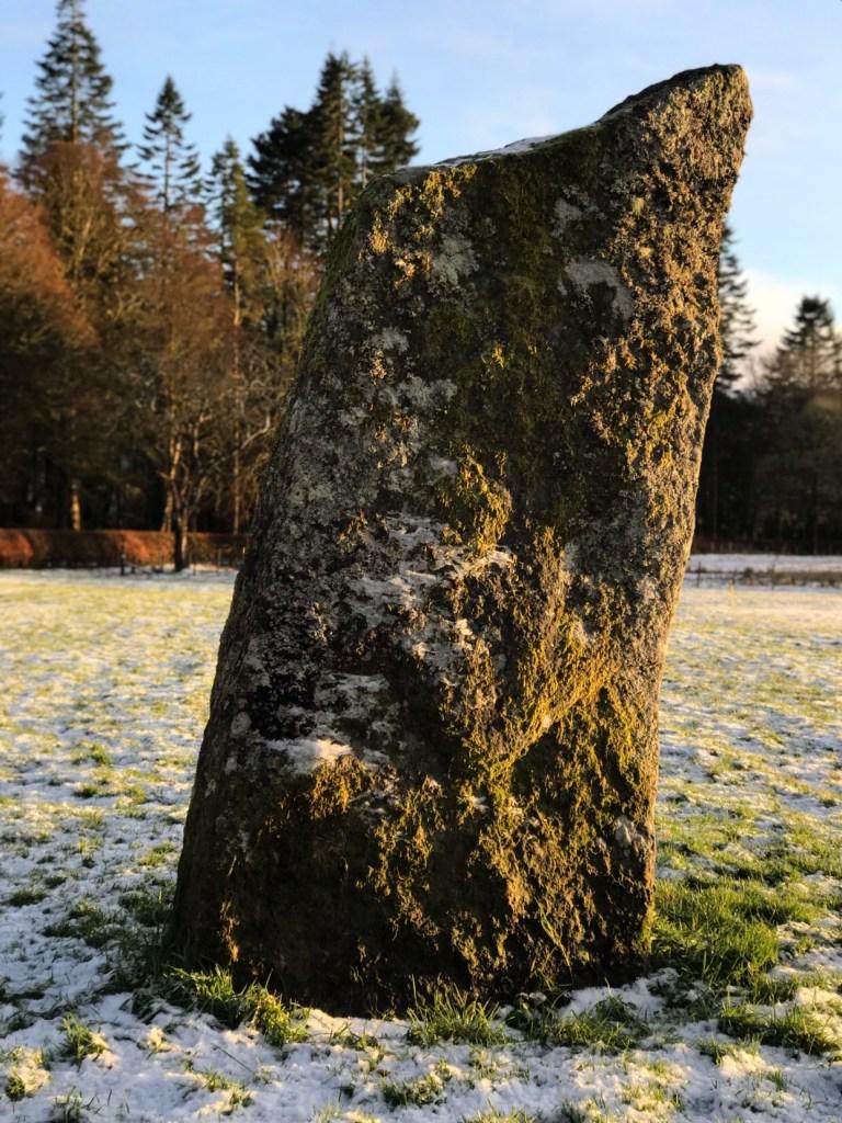 Standing stone, Inveraray