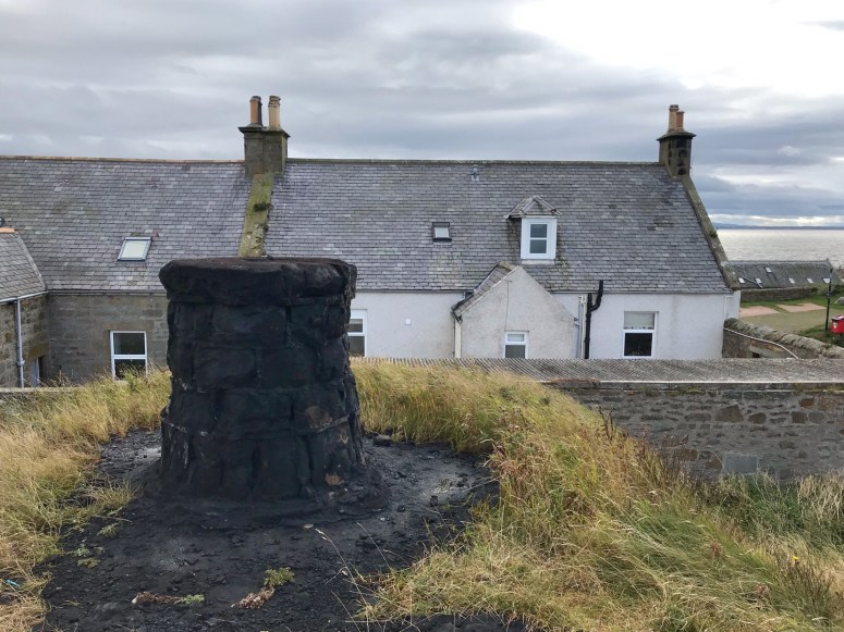 The burning of the Clavie, Burghead