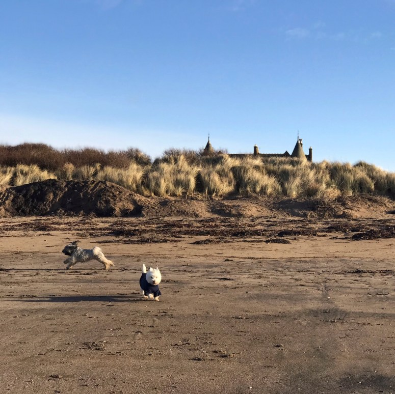 Troon Beach, Ayrshire