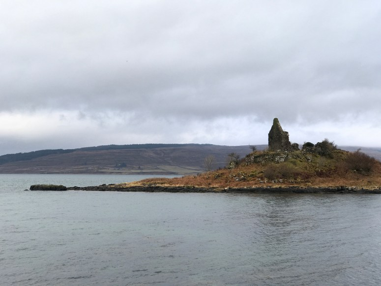 Caisteal nan Con, Ardnamurchan
