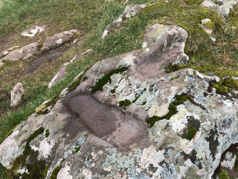 St Columba's Footprints, Kintyre Peninsula