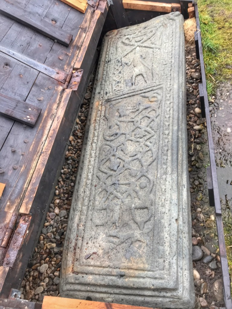 Medieval grave slab, Skipness