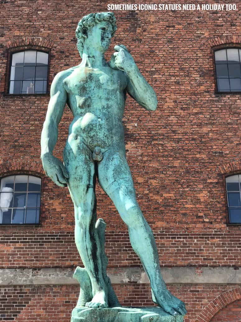 The Boy David, Copenhagen