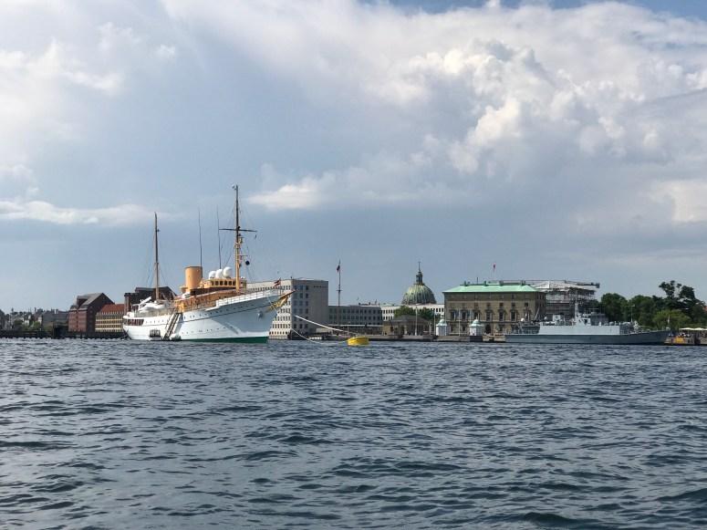 Royal Yacht, Copenhagen