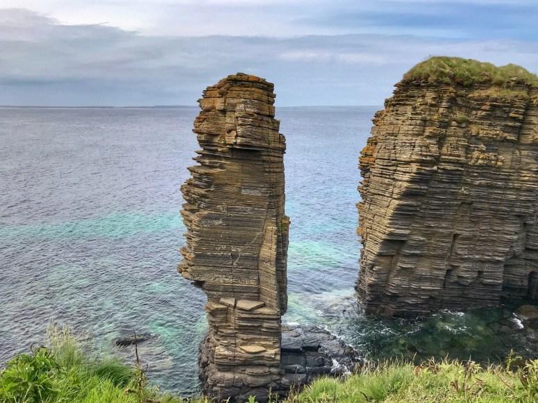 Sea stacks Caithness