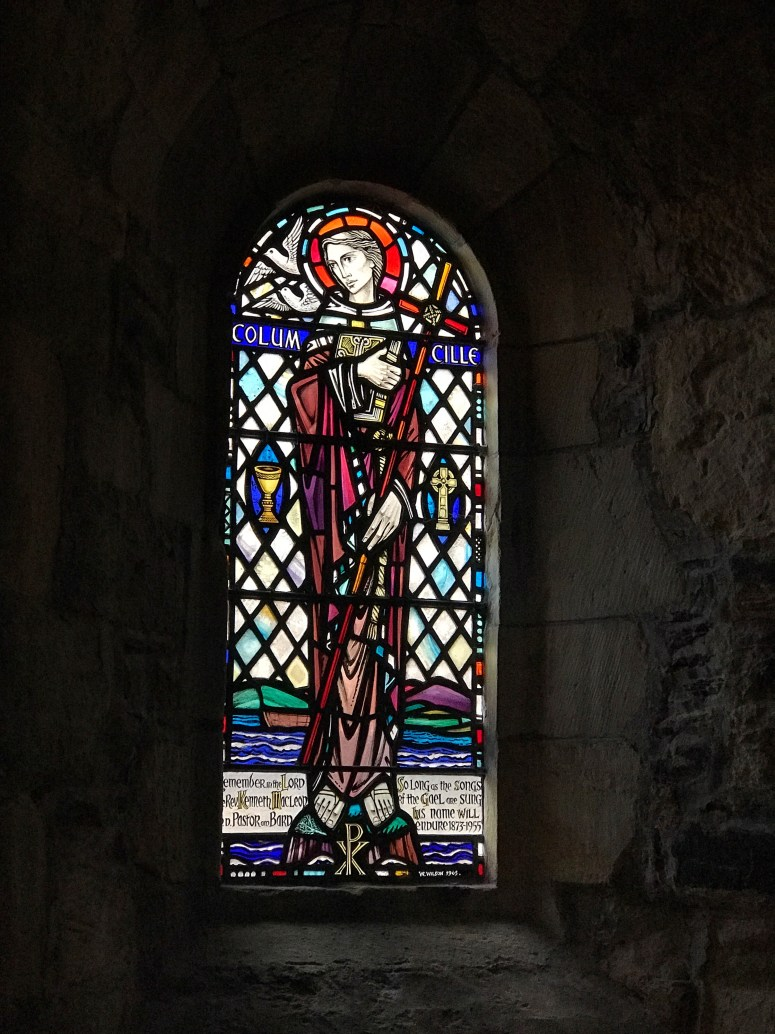 St Columba, Iona Abbey