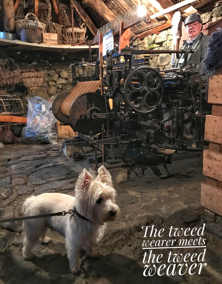 Harris Tweed Weaver, Gearrannan Blackhouse Village