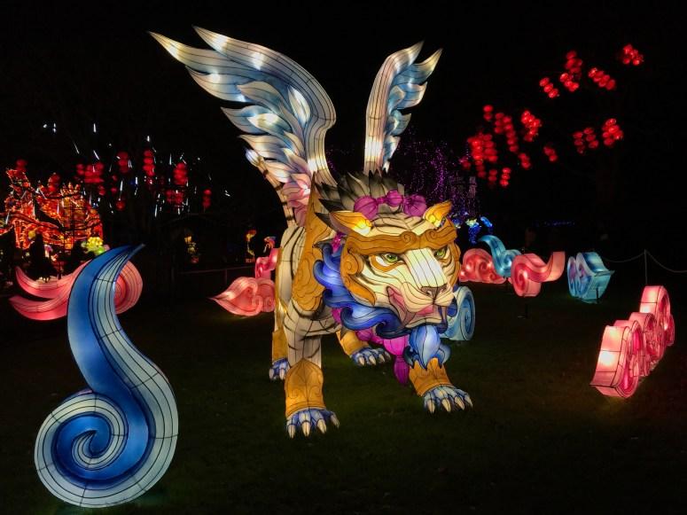 Giant Lanterns of China, Edinburgh Zoo