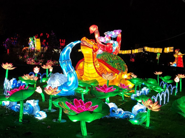 The Giant Lanterns of China, Edinburgh Zoo