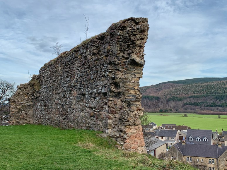 Rothes Castle, Rothes