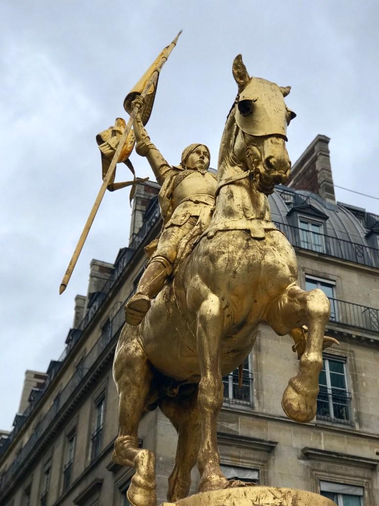 Joan of Arc statue, Paris