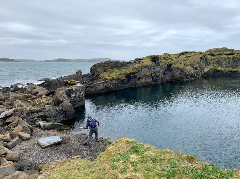 Stone skimming, Easdale