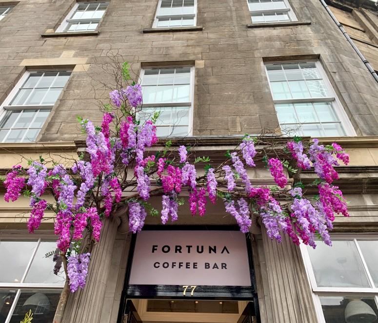 Fortuna Coffee Bar, Edinburgh