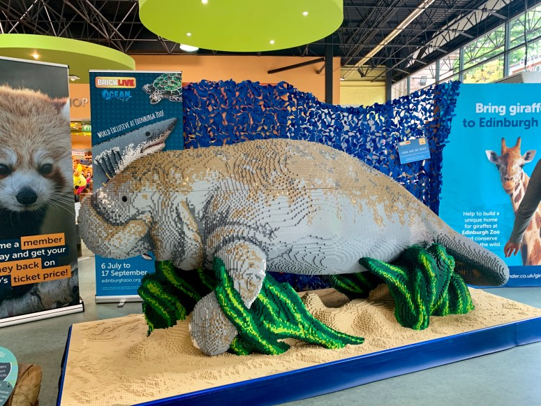 BRICKLIVE Ocean, Edinburgh Zoo