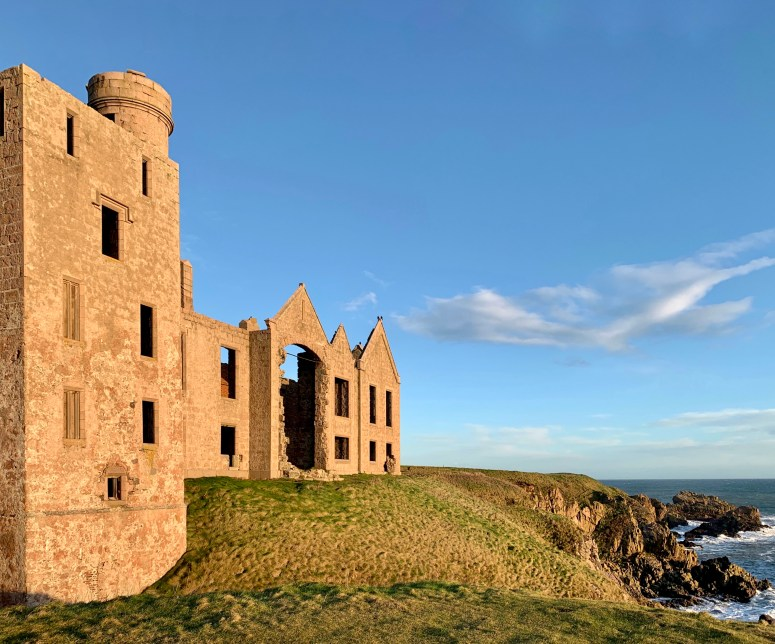 New Slains Castle Aberdeenshire