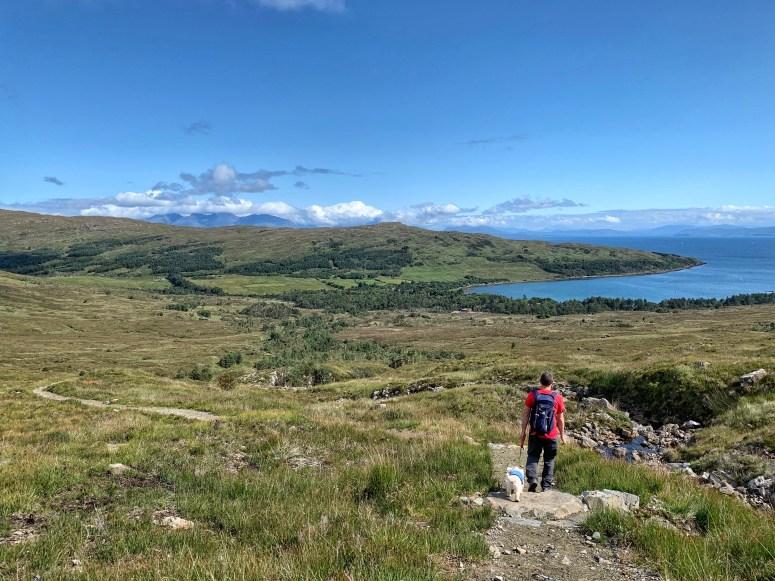 Coire Dubh walk, Isle of Rum