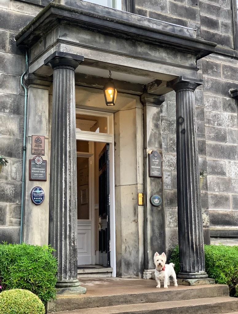 Hotel break in Fife, Garvock House Hotel
