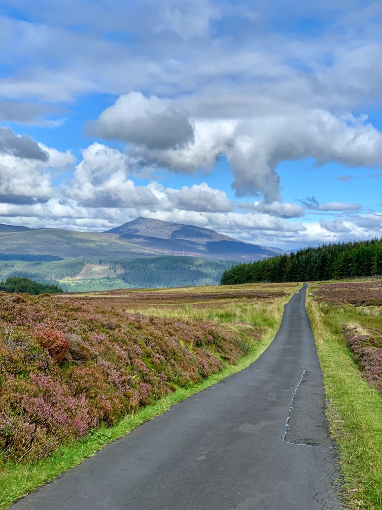 Old Road to Loch Tay