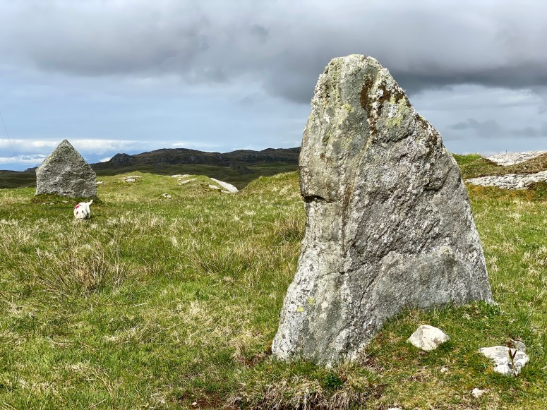 Totronald Standing stones, Coll