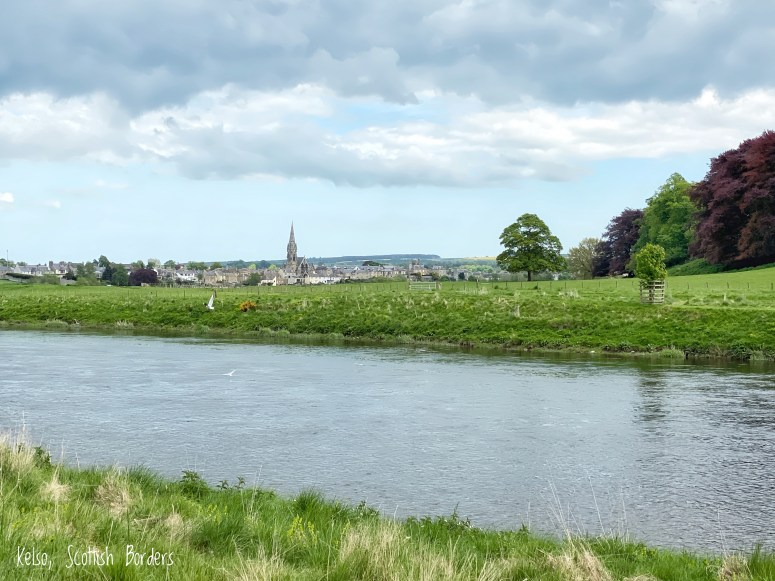 Kelso from the River Tweed
