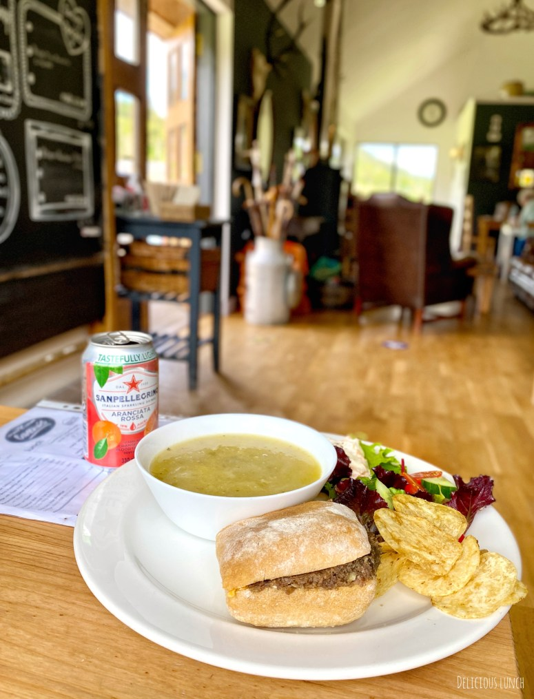 Lunch, the Camerons Tea room, Loch Ness