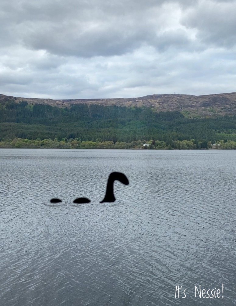 Authentic photo of the Loch Ness Monster