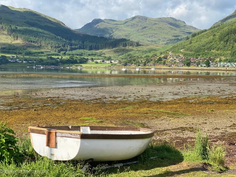 Drimsynie Estate Holiday Village from Lochgoilhead