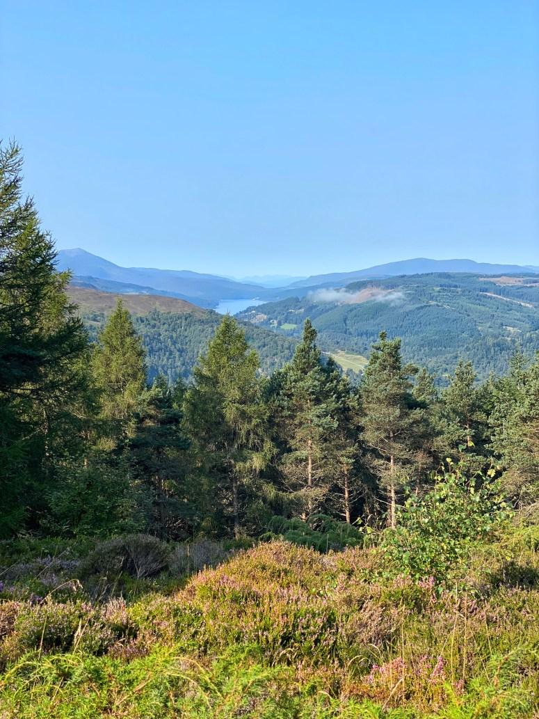 Summit view Craigower Pitlochry