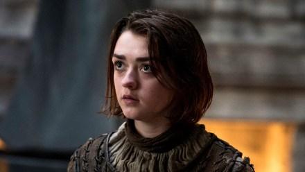 "Arya Stark from HBO's ""Game of Thrones."""