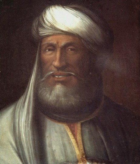 Caliph Mu'awiyah, founder of the Umayyad dynasty and rival to Ali.