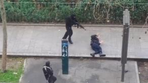 Charlie Hebdo attacks in Paris perpetrated by those swearing allegiance to the Islamic State.