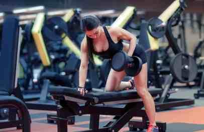 Single Arm Row Back Workout 2
