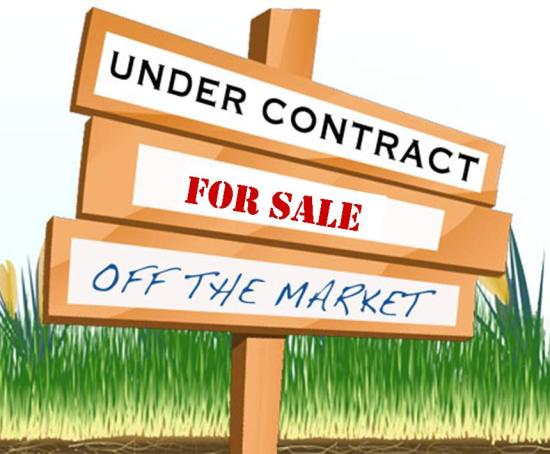 Off The Market Under Contract
