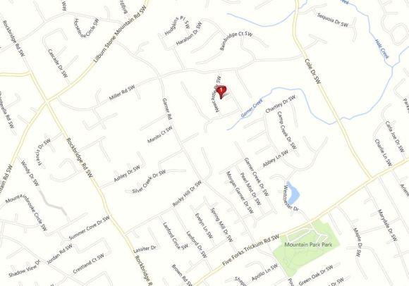 Lilburn Map Location Newcastle Subdivision