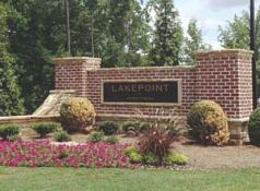 Suwanee GA Townhome Community Lakepoint At Johns Creek