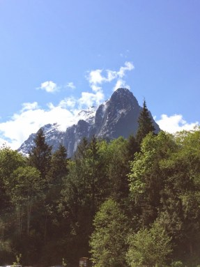 View of Mount Index from the parking lot