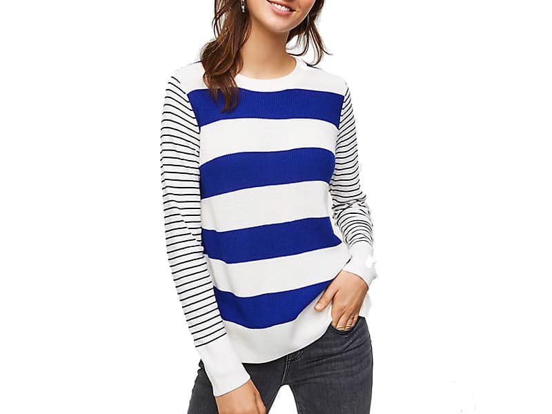 Weekend Inspiration: LOFT Striped Sweater
