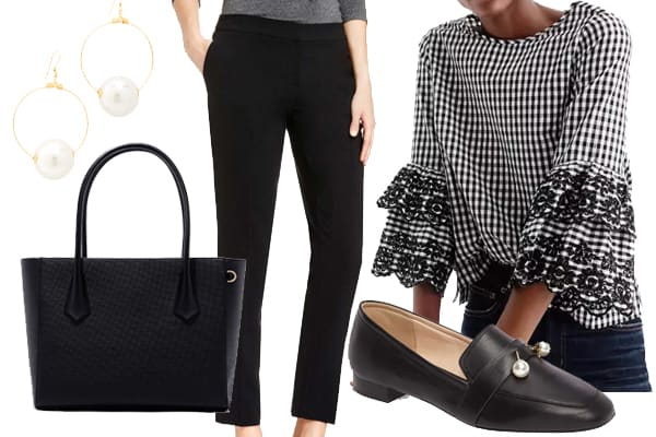 Wear to Work: Feminine Loafers