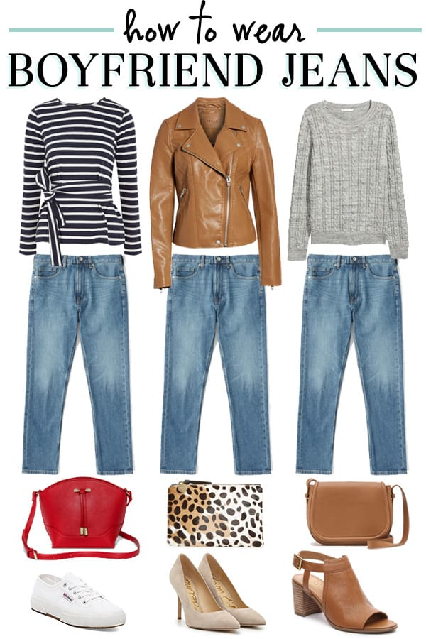 How to Wear Boyfriend Jeans - The Well Dressed Life