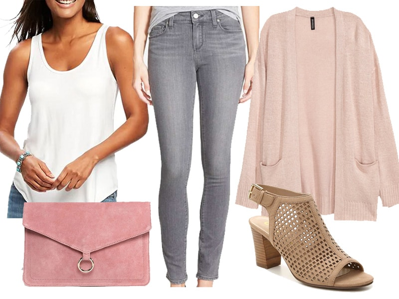 Weekend Inspiration: Cozy Pink Cardigan - Wear Later