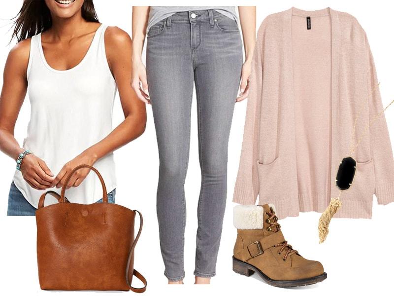 Weekend Inspiration: Cozy Pink Cardigan - Wear Now